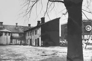 Kvarteret Lorens i april 1978. Foto: Gunhild Malmberg/VLT:s arkiv