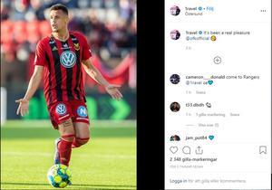 Ravel Morrisons Instagram. Foto: Privat.