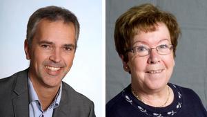 Johan Hägglöf och Gunilla Wallenberg valde båda att gå ut när det var dags för nytt beslut om bostäderna vid Hökmossbadet.