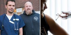 Daniel Marmgård och Andreas Hägre har öppnat en hälsomottagning i Nynäshamn. Foto: Carina Albin/NP, Gorm Kallestad/TT