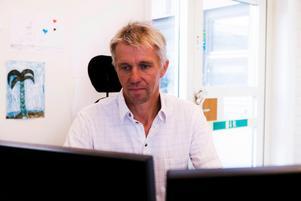 Peter Calla, vakthavande ingenjör på Vattenregleringsföretagen.