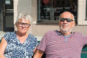 Yvonne Weimann, 68 år och Per-Inge Södergren, 72 år