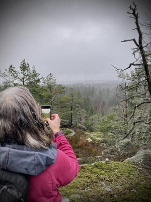 Utsikt från Smedkärrberget.