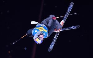SM-vinnaren Oscar Wester under en världscuptävling i Tyskland i december. Foto: Martin Meissner/AP Photo
