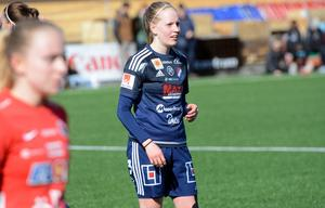 Bea Gärds gjorde 1–0-målet borta mot topplaget AIK.
