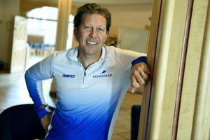 Mattias Svahn, expert på hälsa och friskvård, var med på Andreasgården när Siljagruppen/Arbetshälsan presenterade Firstbeat. Han betonade vikten av träning för att må bra.