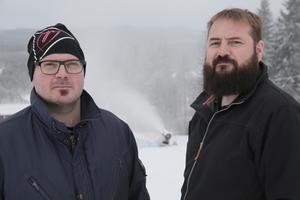 Bröderna David och Daniel Andersson är nöjda över den respons föreningen fick med tidningens hjälp i höstas.