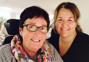 Elisabeth Borg lärde känna Marianne Eldebrink redan som barn. Så småningom tog hon tjänstledigt för att arbeta som personlig assistent med Marianne.