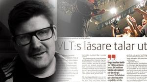 VLT-montage. Fredrik