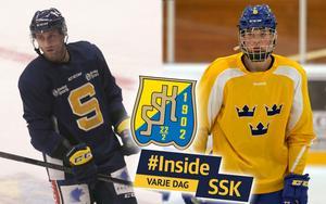 Lindsay Sparks och Axel Andersson är de senaste tillskotten i SSK:s trupp. Foto: Mittmedia