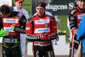 Rasmus Broberg kör för Rospiggarna 2019. Foto: Roffe Lundstedt/speedwayfoto.com