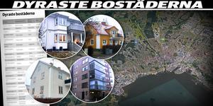 De dyraste bostäderna i Västerås finns i några avgränsade områden. Montage: Helena Grahn