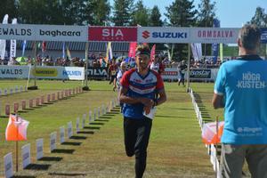 Thomas Carlsson från Malung OK Skogsmårdarna vann H21 Kort-1. Han är till vardags tränare på orienteringsgymnasiet i Sandviken.