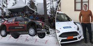 Jacob Jansson är klar för debut i svenska rallyt. Foto: Micke Fransson/TT, Privat