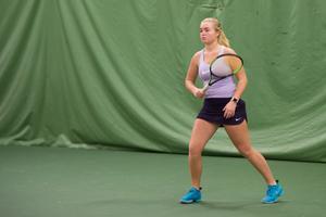 Tilde Strömquist vill plocka fler poäng på ITF-tävlingar för att klättra på världsrakningen för juniorer.