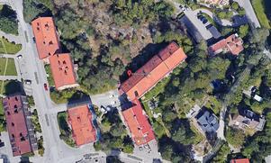 165 kvadratmeter förråd och garage ska bli fyra lägenheter på Erikshällsgatan 6.