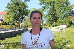 Denise Keyser har varit vegetarian i nästan hela sitt liv. Bild: Britta Söderberg