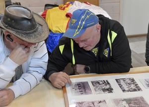 Jarle Mosshäll och Bengt-Arne Halvarsson tar en tripp längs minnenas allé.