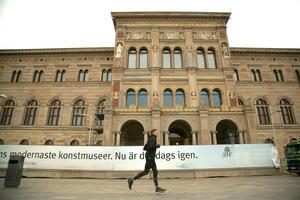 Nationalmuseum i Stockholm invigdes 1866Foto Hossein Salmanzadeh / TT