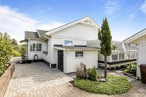 Veckans dyraste hus såldes för 3 800 000 – Tornvägen 29 på Alnö. Foto: Mäklarhuset.
