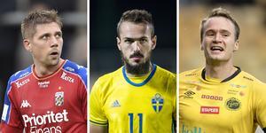 Mikael Boman spelar i Danmark, den förre allsvenska skyttekungen Emir Kujovic är fast på bänken i Fortuna Düsseldorf i den tyska andraligan och Viktor Prodells kontrakt med Elfsborg har löpt ut.