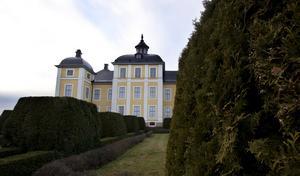 Nytt. Trädgården närmast slottet är väldigt sliten. Just nu diskuterar man om den ska bevaras eller ersättas med en återskapad trädgård från något annat århundrade.Foto: Mikael Johansson