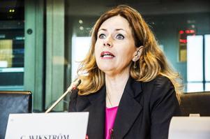 Cecilia Wikström (L) har själv på plats sett hur omfördelningen av flyktingar mellan länder i EU går till. Det är än så länge väldigt blygsamma antal det rör sig om.