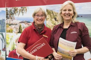 Karin Blomkvist Paegelow och Cecilia Eslander från Grand tours har lagt märke till ett växande intresse för tågresor bland äldre resenärer.