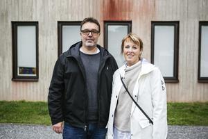 Jörgen Hägglund och Kristina Gullersbo.