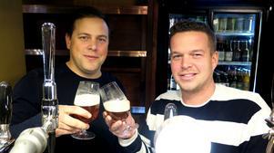 Niklas Svanbom och Thommy Larsson, som driver Trivs.