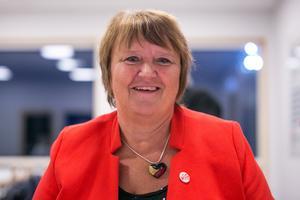 AnnSofie Andersson är en nöjd och glad ordförande för Jämtkraft utifrån det bokslut som släpptes på fredagen.