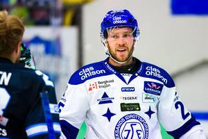 Linus Persson saknas i Leksand mot Pantern. Foto: Fredrik Karlsson/Bildbyrån