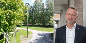 Nya äldrebostäder behövs i centrala Ösmo, anser oppositionsrådet Patrik Isestad (S).