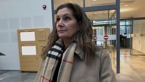Maria Wilhelmsson, målsägandebiträde till kvinnans anhöriga, berättar att de är lättade över Svea hovrätts dom.