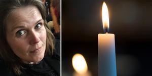 Catharina Terelius vill att fler ska börja prata om suicid. Foto: Catharina Terelius och TT