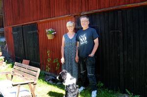 Ulla Hellkvist och Stefan Newstams företag Forsnäsgruppen ska driva fäboden i Säterdalen i år.