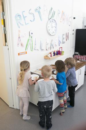 Köket på källbackens förskola är nominerat i två kategorier av White guides jury.