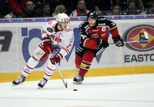Jonathan Hedström och Per Svartvadet gick många tuffa dueller mot varandra i Slaget om Västernorrland, där den senare fick det sista ordet med sitt övertidsmål i sjunde kvartsfinalen.