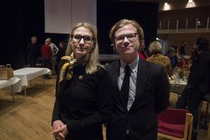 Jessica Bjurström och Felix Nyström representerade utrikesdepartementet.