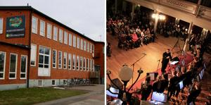 Elever från kulturskolan Smedjan medverkar i manifestationen för Sveriges Kulturskolor.