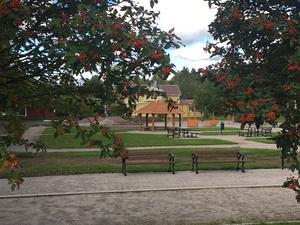 Inom de närmaste veckorna öppnas den nya aktivitetsparken i Vansbro