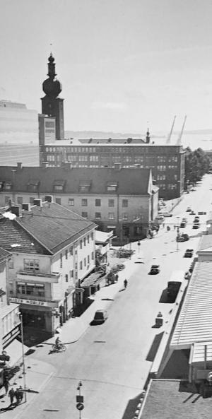 Kopparbergsvägen 1964. Foto: VLT:s arkiv