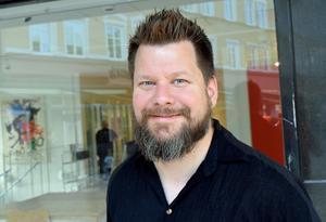 Rikard Rudolfsson, ordförande för Vänsterpartiet i Borlänge.
