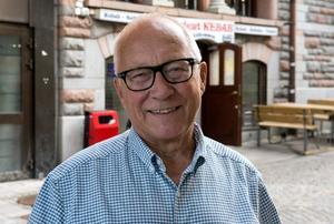 Lars Berglund, 73 år, pensionär, Armsjön: