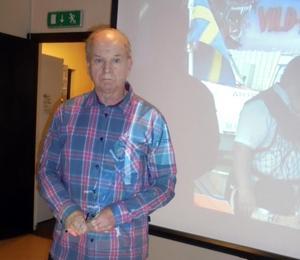 Kurt Stigsson visade filmer om Malungsprofiler som