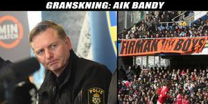 Fredrik Gårdare berättar om polisens arbete mot organiserad brottslighet inom idrotten och AIK.