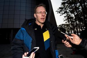 Tre Kronors lagläkare Björn Waldebäck.