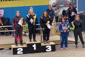 Amanda Hedälv från Hede tog förstaplatsen i Krokom tredagars.