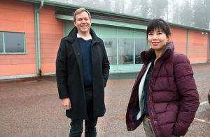 27 november:  Mats och Fei Sundstedt berättade om sin satsning på ett lekland i Åsbo.