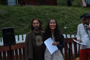 Jonas Staf och Aska Staf vann både publikens pris och juryns pris för sitt framförande. Motiveringen från juryn löd: